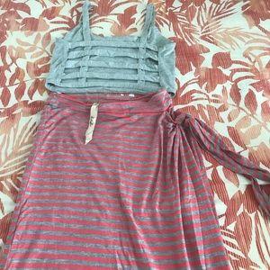 Woman's Small Skirt Set
